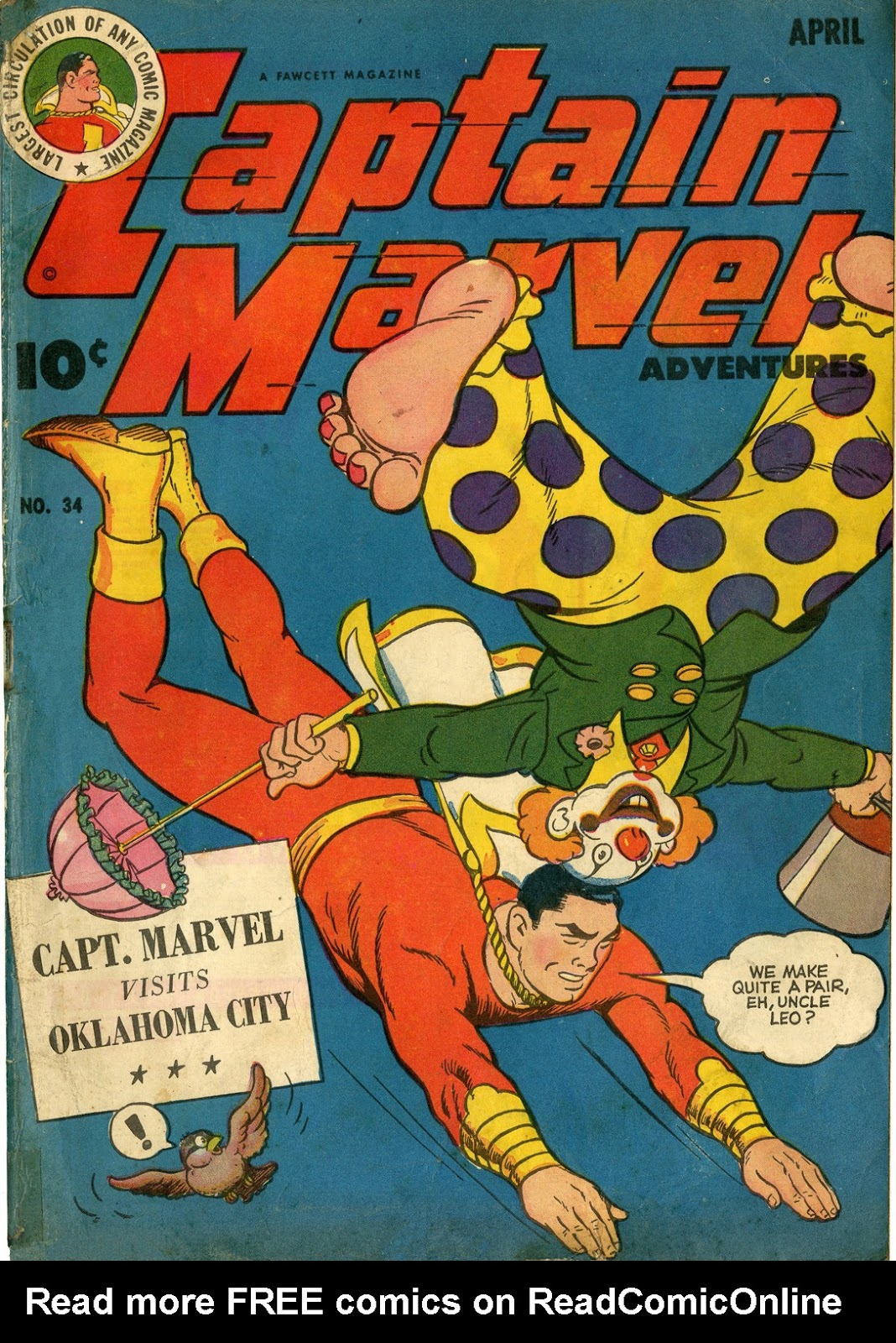 Captain Marvel Adventures issue 34 - Page 1