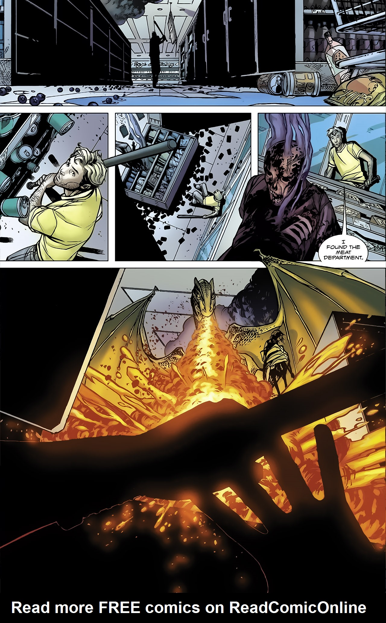 Read online Magus comic -  Issue #3 - 19