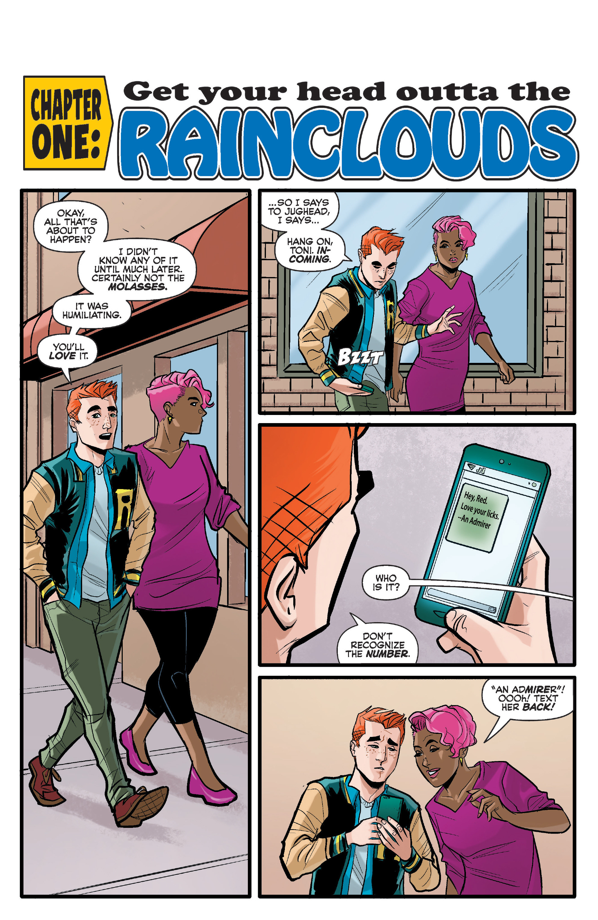 Read online Archie (2015) comic -  Issue #17 - 4