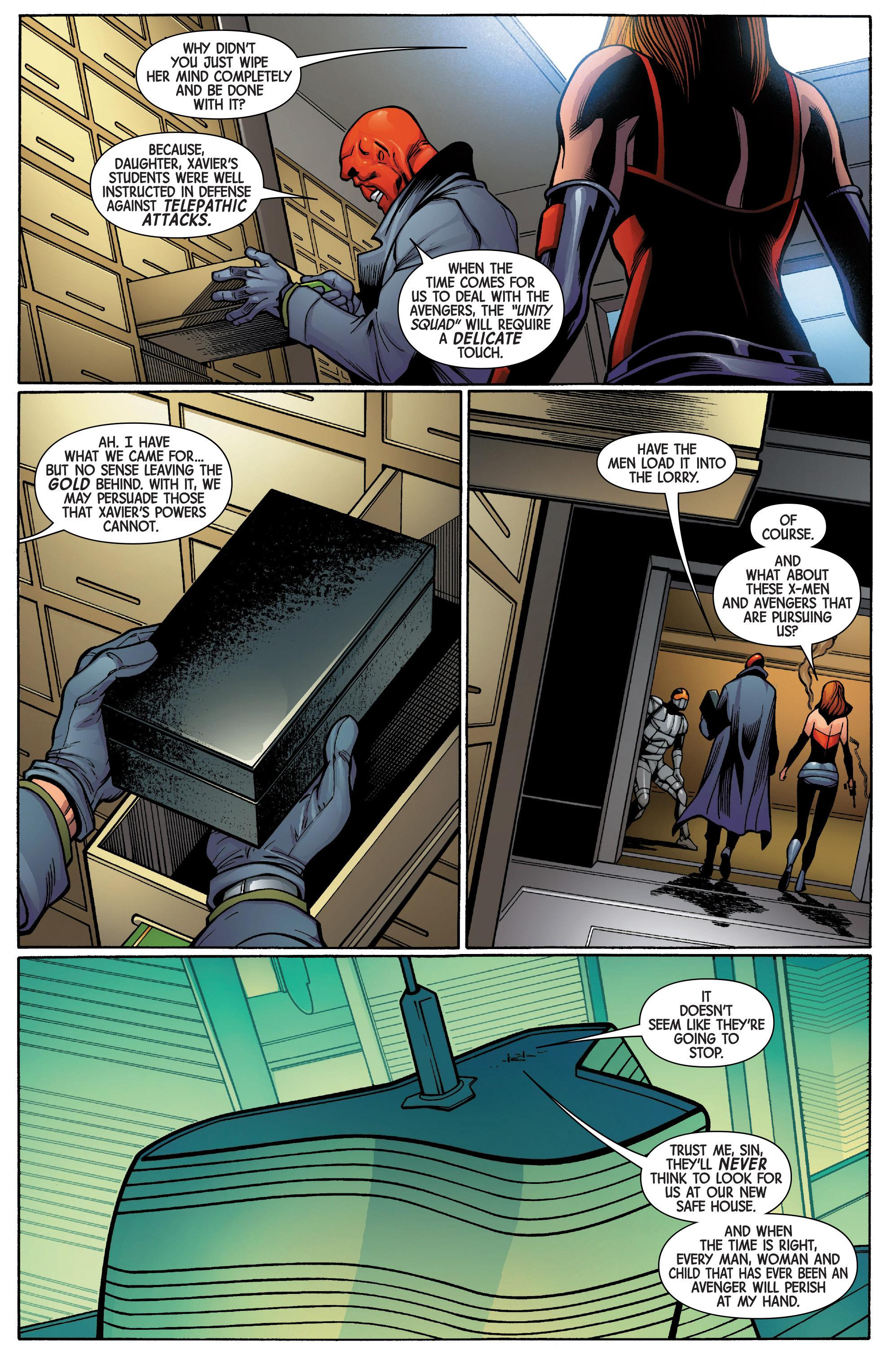 Read online Uncanny Avengers [II] comic -  Issue #5 - 21