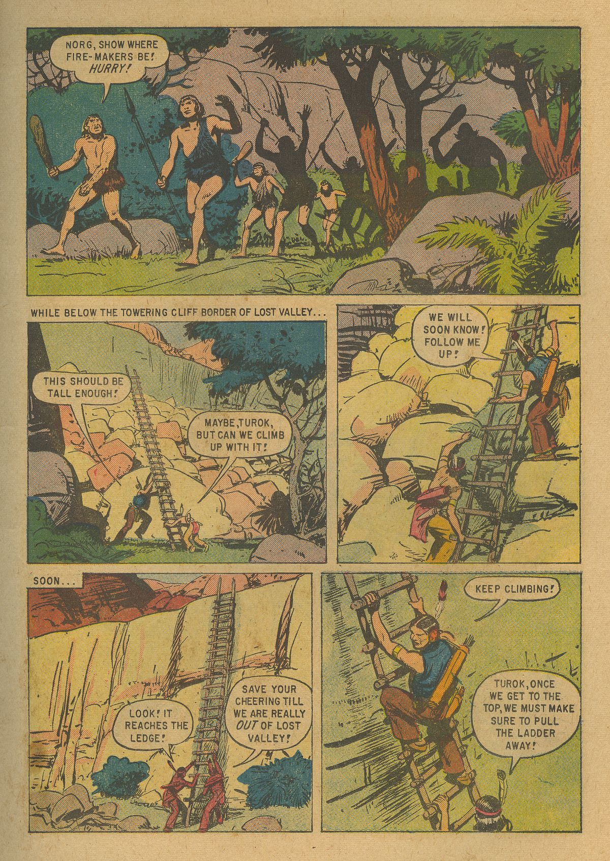 Read online Turok, Son of Stone comic -  Issue #19 - 11