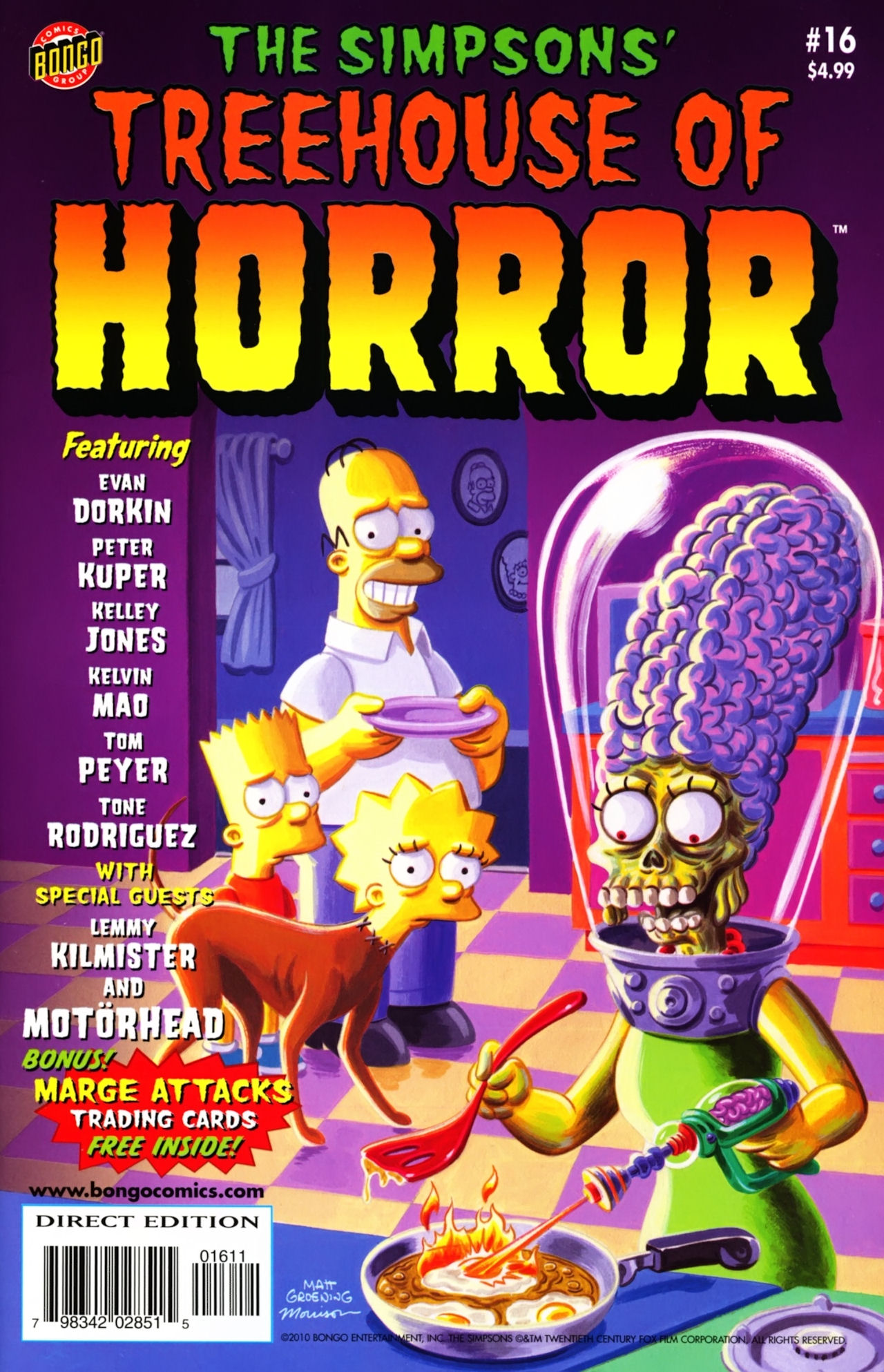 Read online Treehouse of Horror comic -  Issue #16 - 2