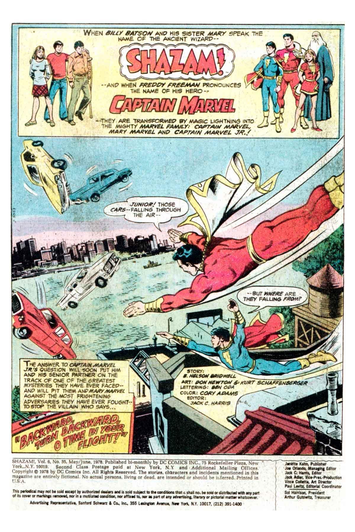 Read online Shazam! (1973) comic -  Issue #35 - 2