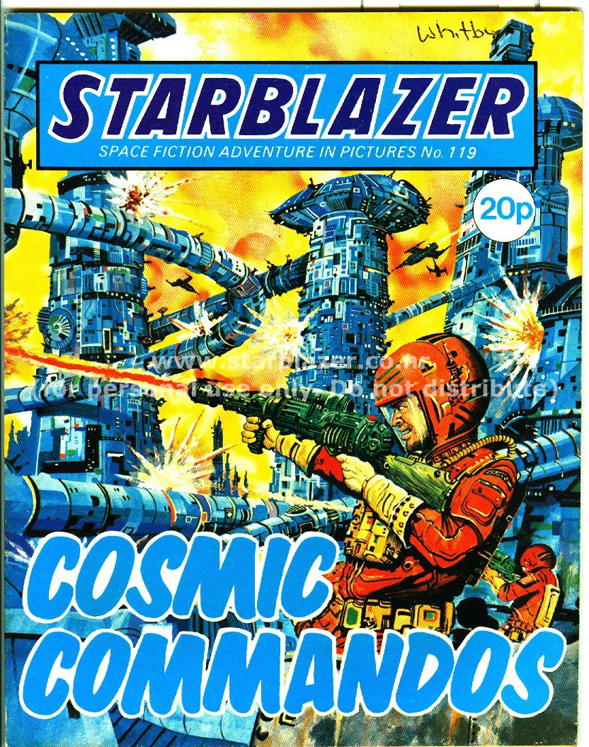 Starblazer issue 119 - Page 1
