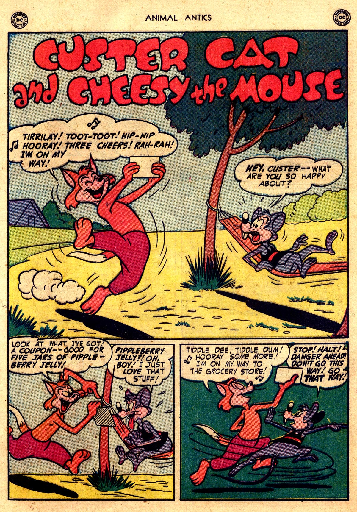 Read online Animal Antics comic -  Issue #26 - 11
