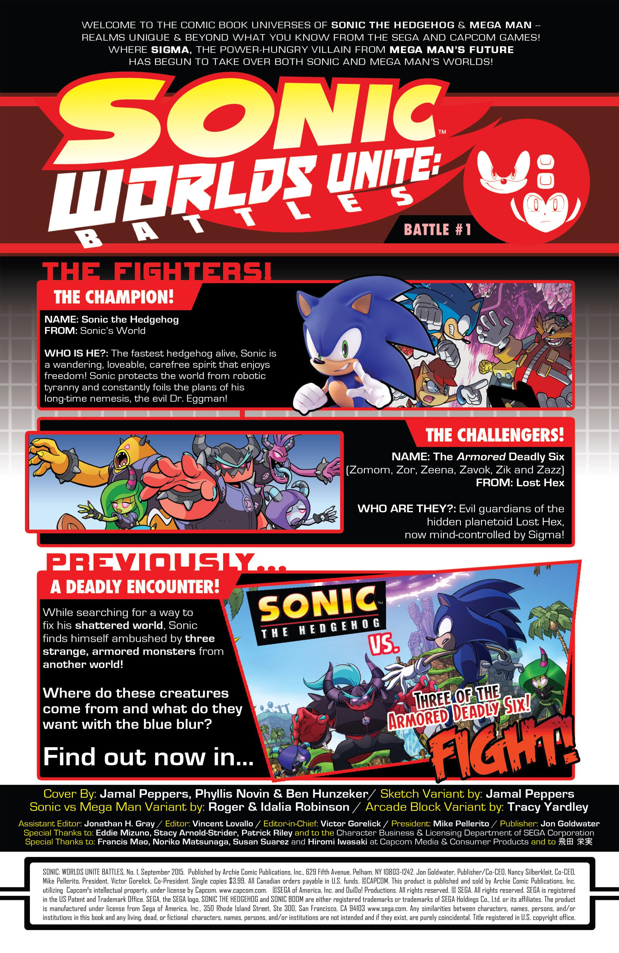 Read online Sonic: Worlds Unite Battles comic -  Issue # Full - 3