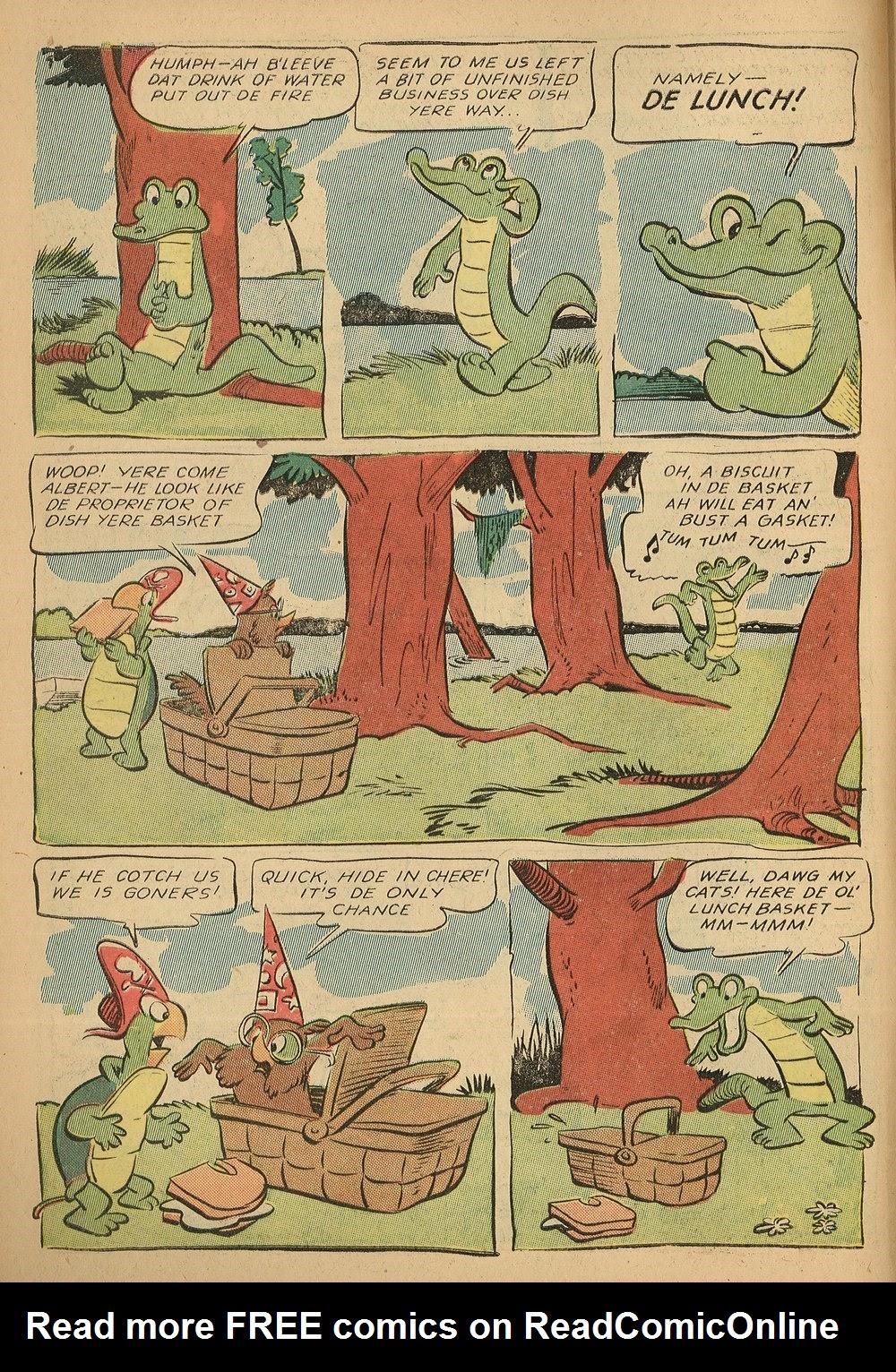 Read online Animal Comics comic -  Issue #24 - 8