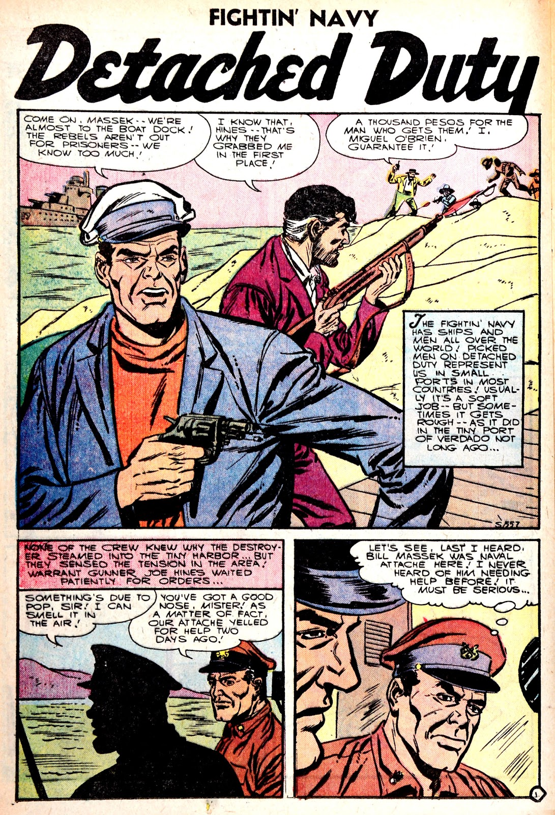 Read online Fightin' Navy comic -  Issue #75 - 24