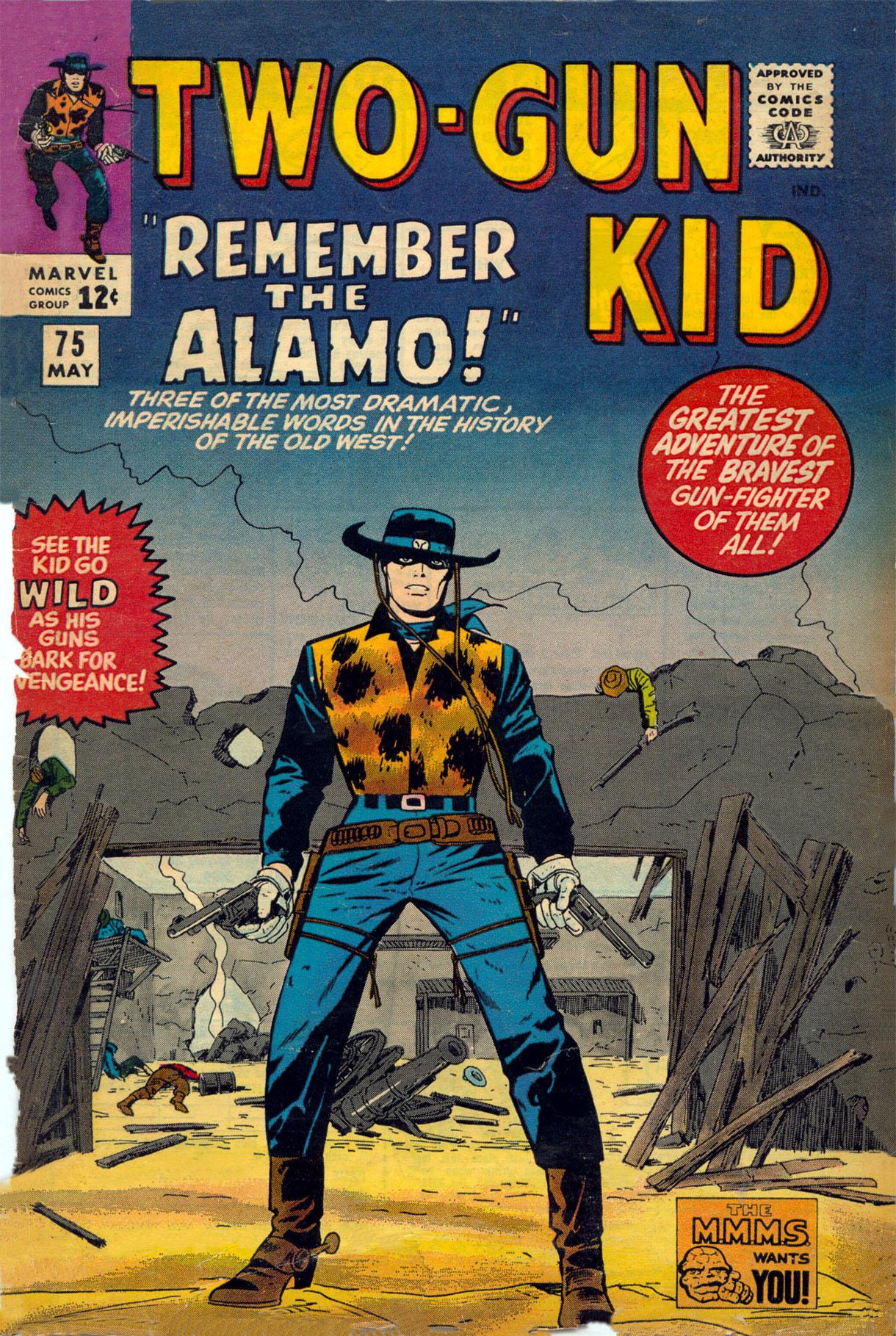 Read online Two-Gun Kid comic -  Issue #75 - 1