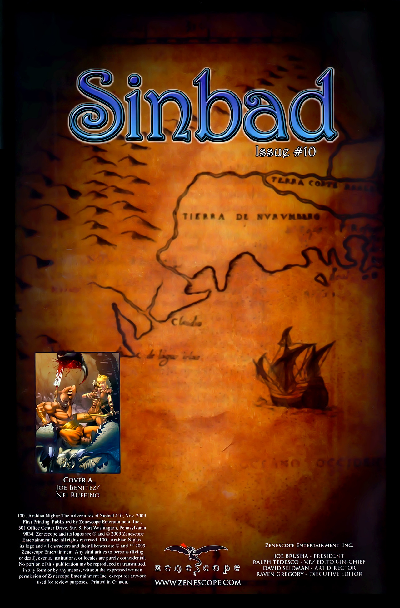 Read online 1001 Arabian Nights: The Adventures of Sinbad comic -  Issue #10 - 2