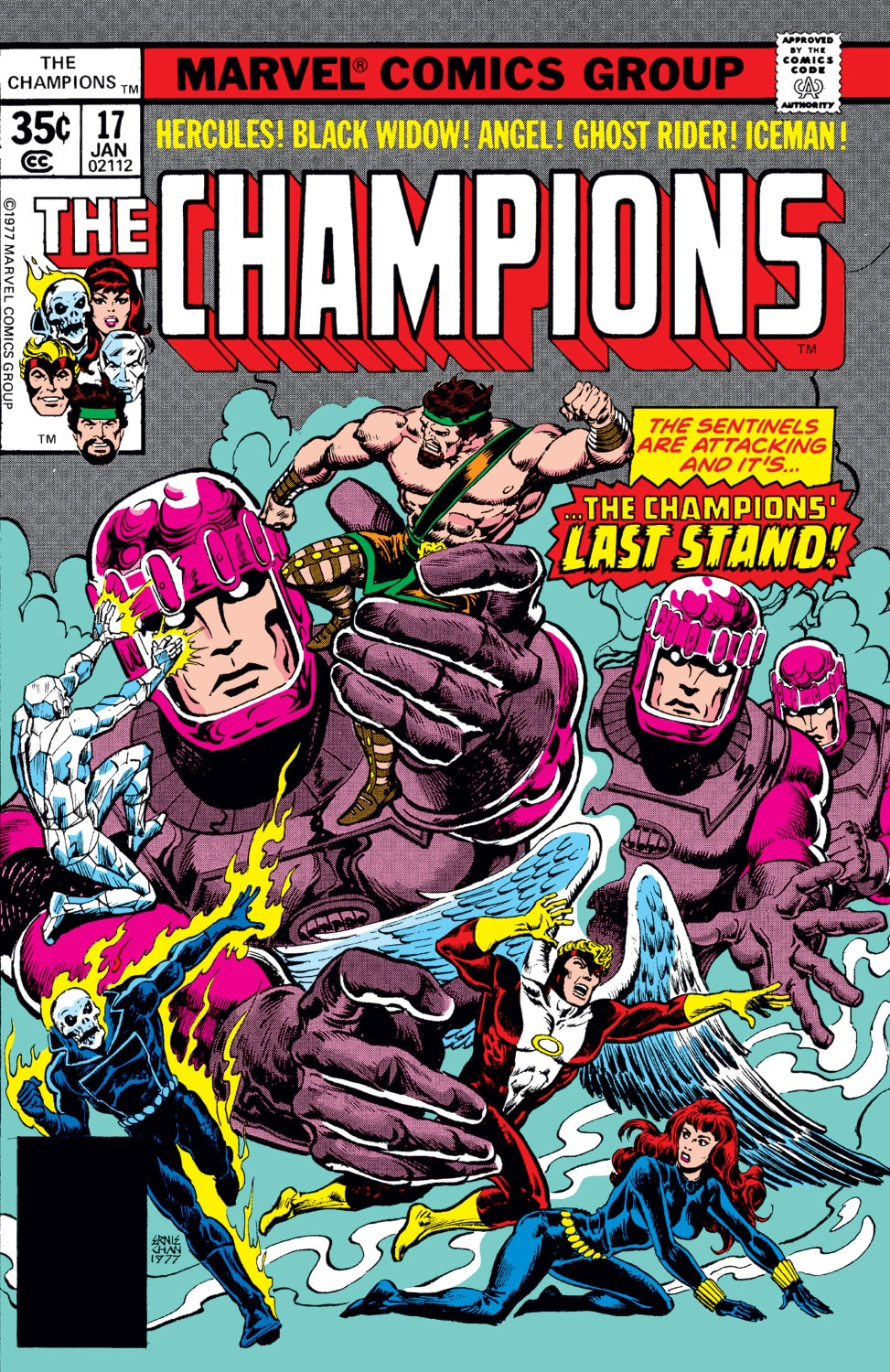 The Champions issue 17 - Page 1