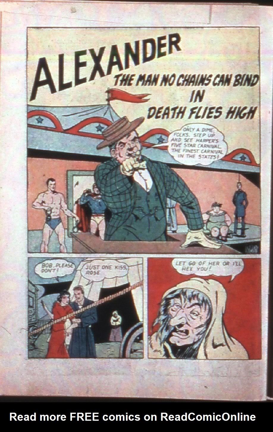 Read online Super-Magician Comics comic -  Issue #7 - 49