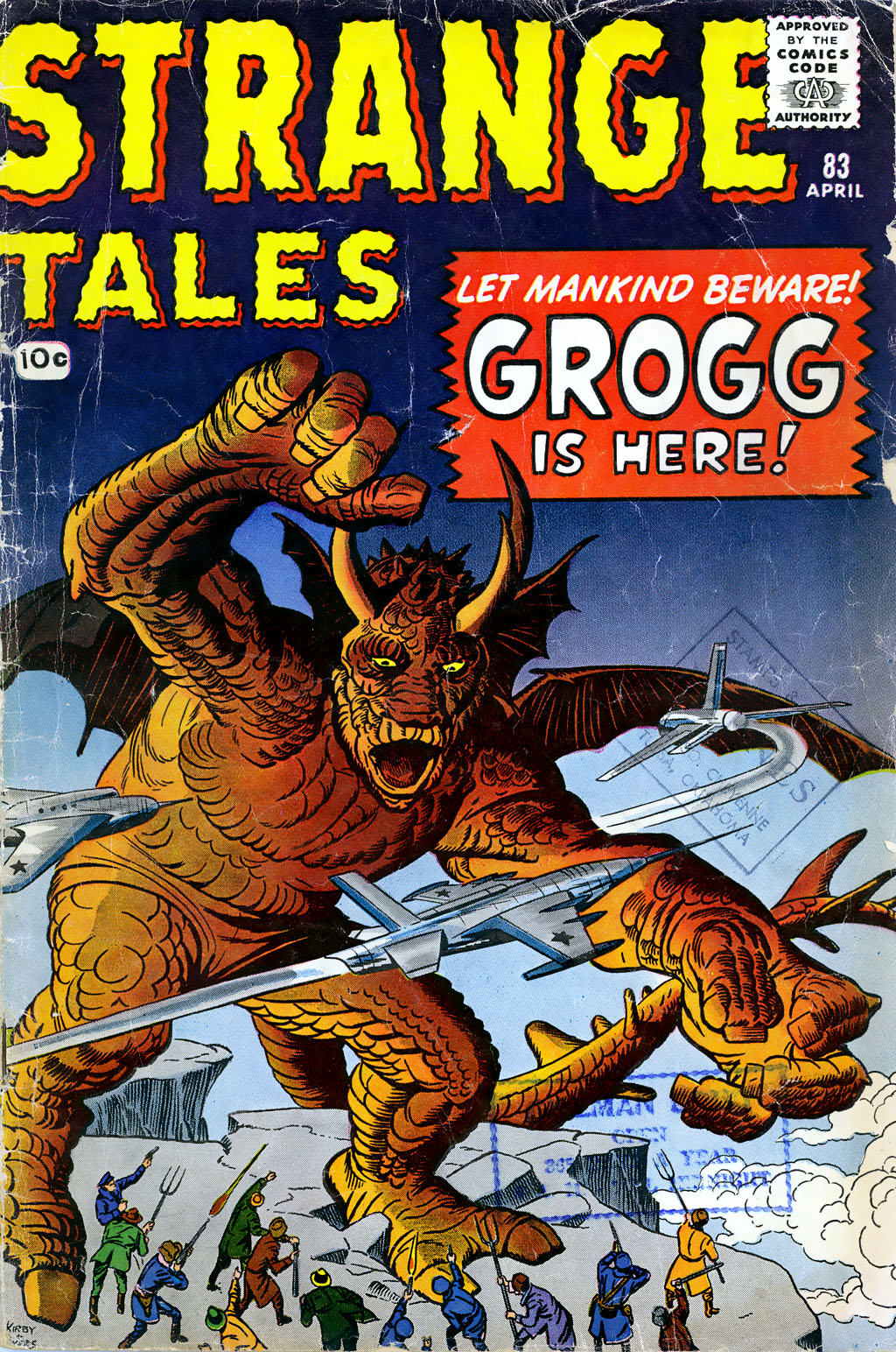 Strange Tales (1951) 83 Page 1