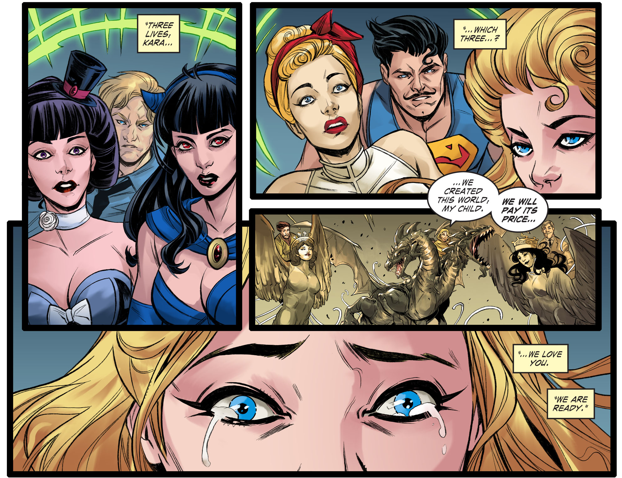 Read online DC Comics: Bombshells comic -  Issue #99 - 21