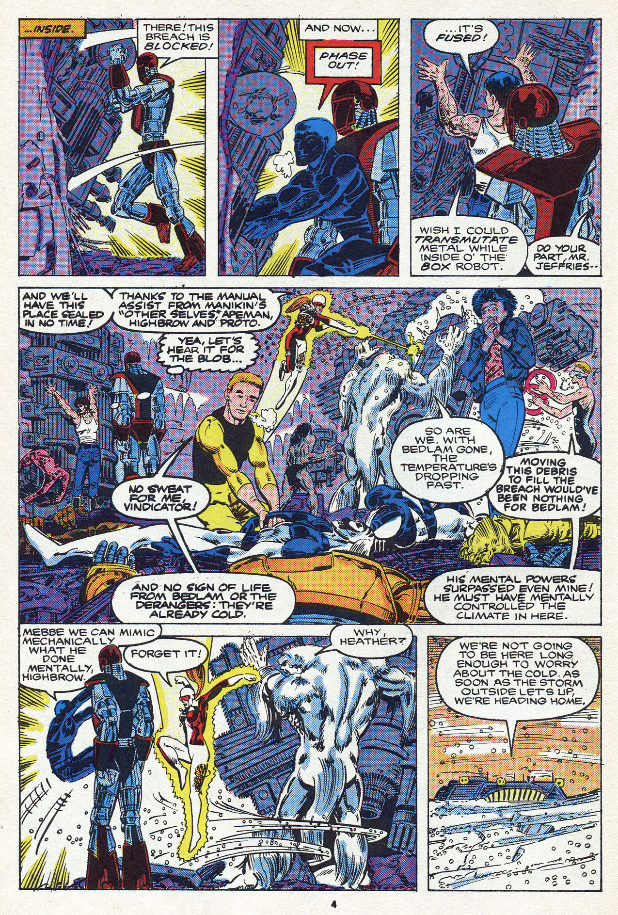 Read online Alpha Flight (1983) comic -  Issue #54 - 6