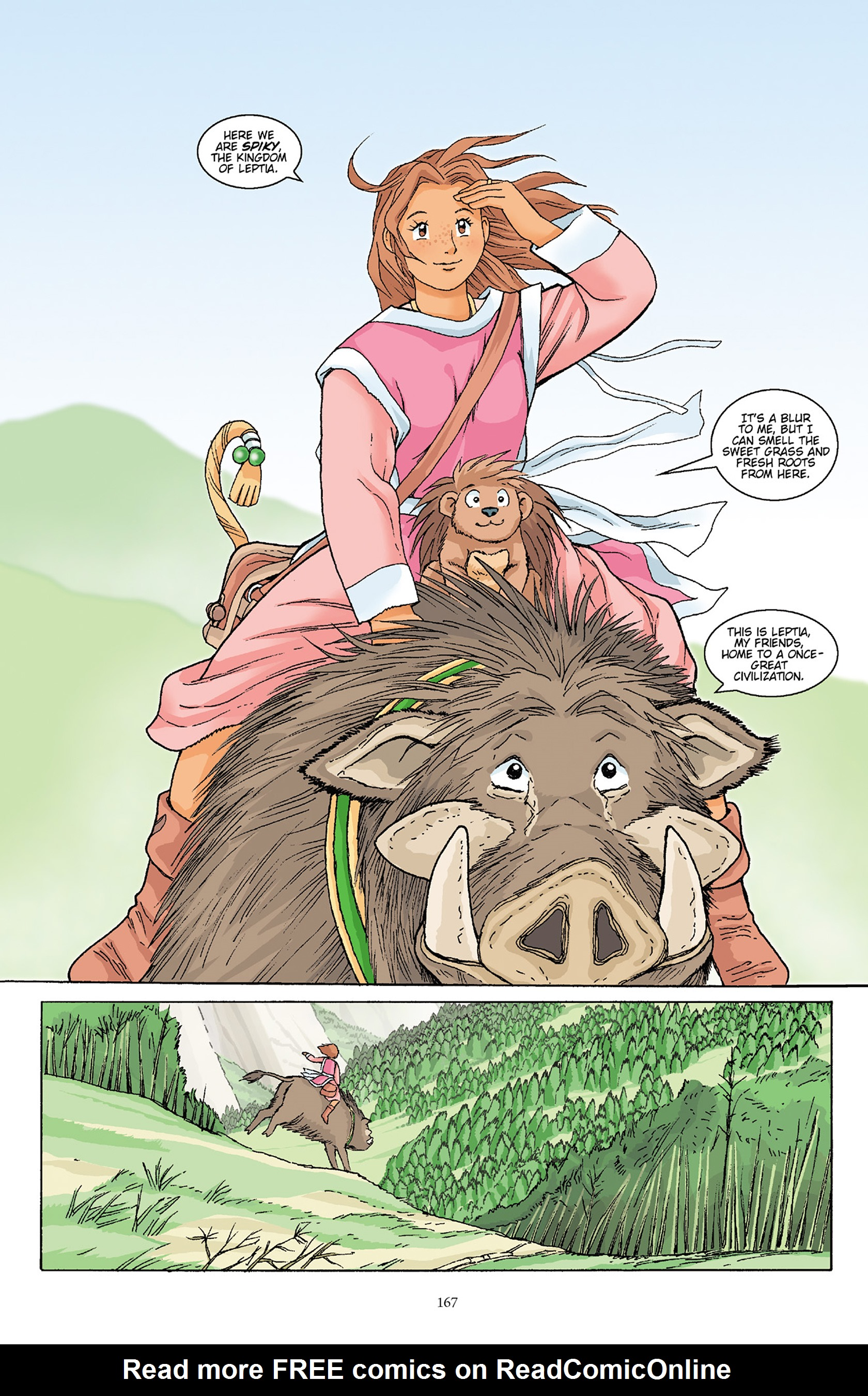 Read online Courageous Princess comic -  Issue # TPB 1 - 166