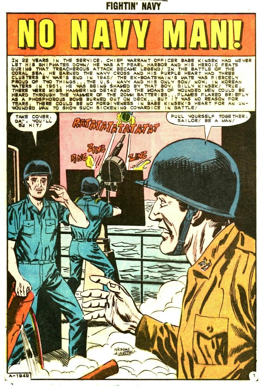 Read online Fightin' Navy comic -  Issue #107 - 8