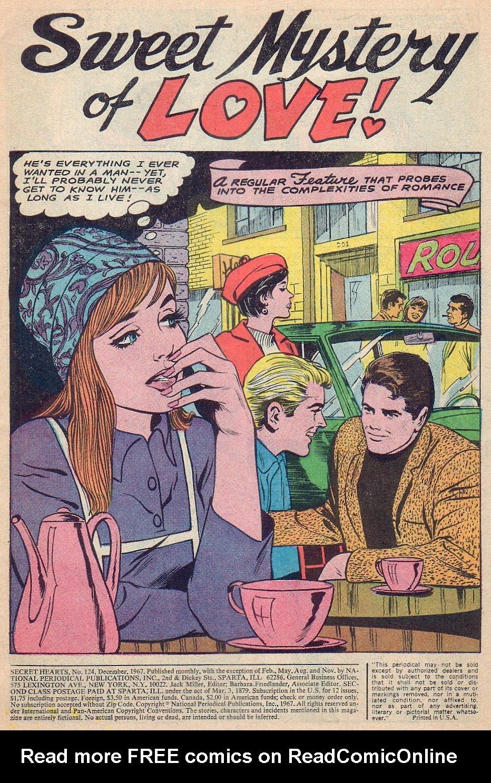Read online Secret Hearts comic -  Issue #124 - 3