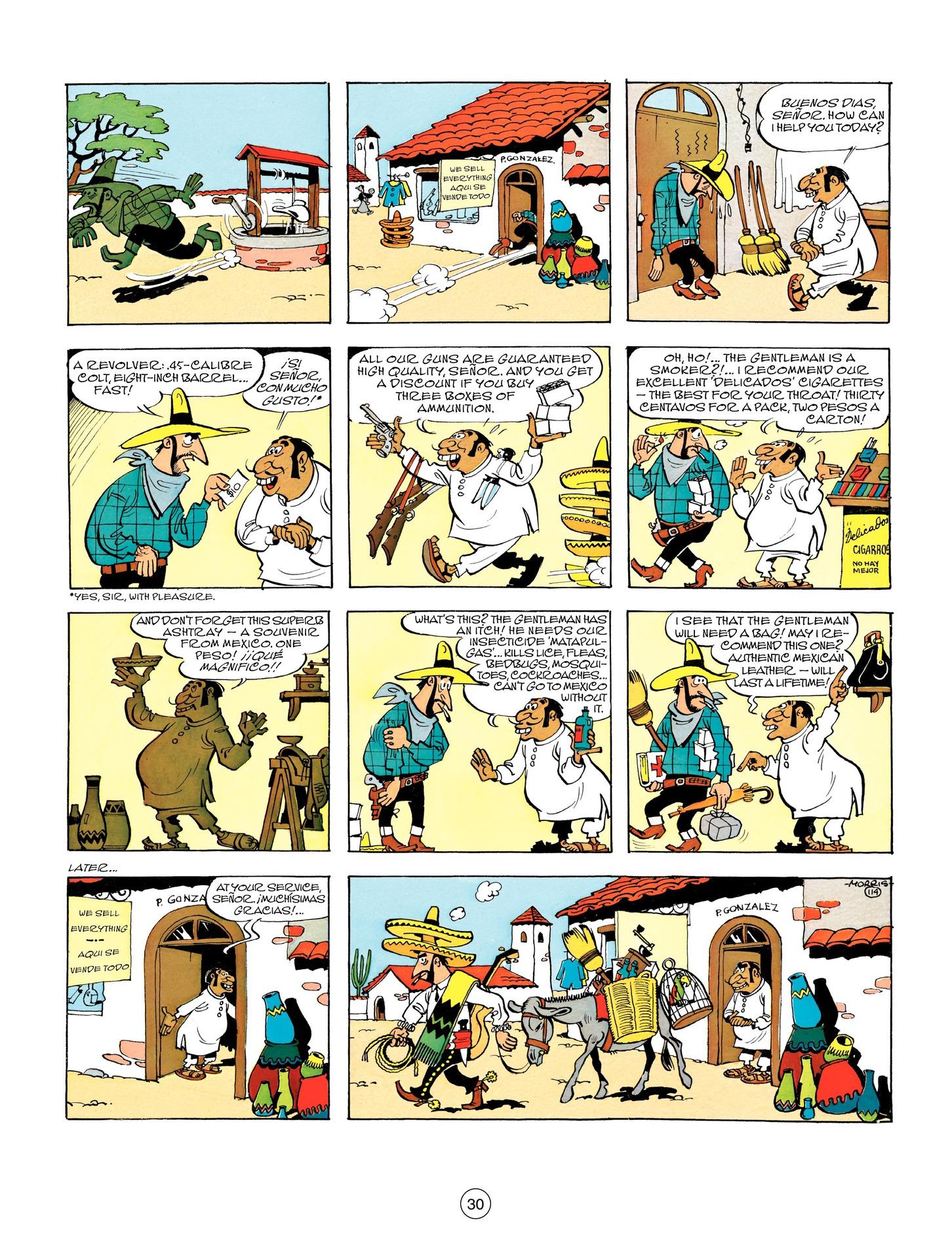 Read online A Lucky Luke Adventure comic -  Issue #55 - 30
