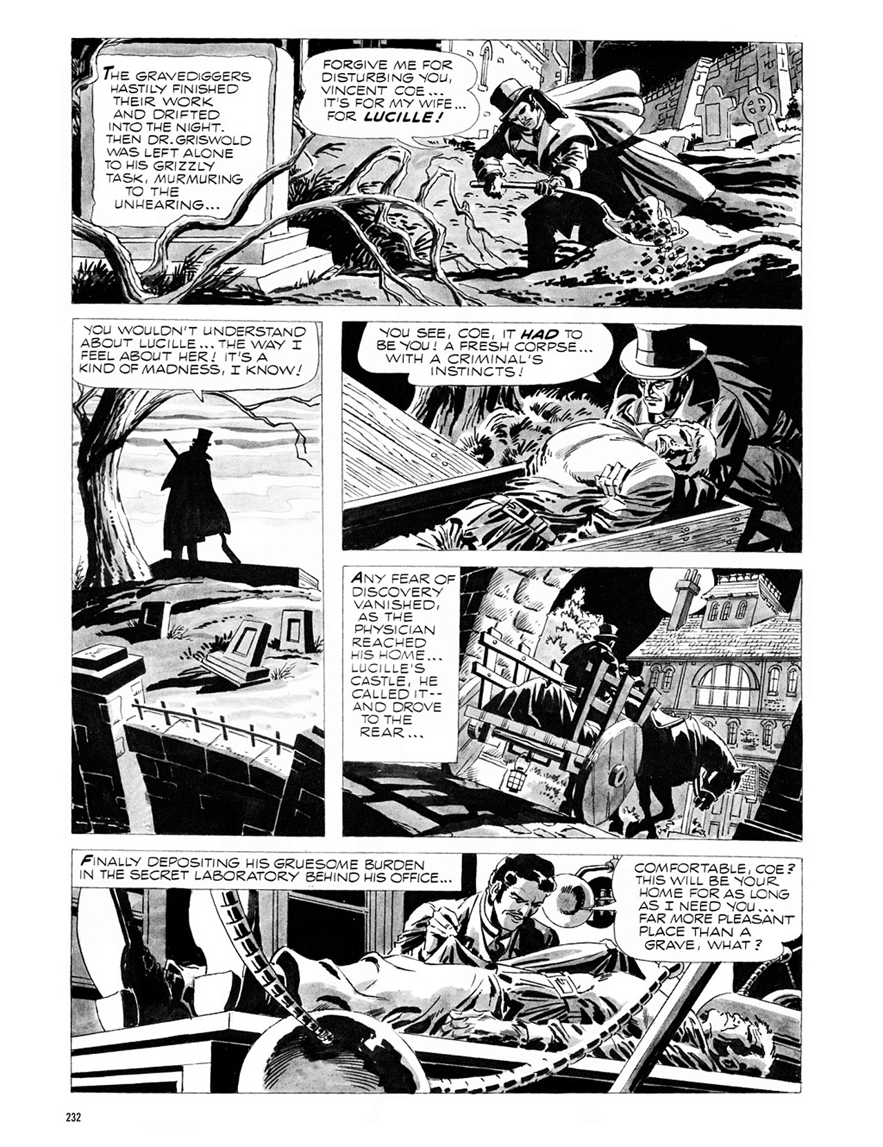 Read online Eerie Archives comic -  Issue # TPB 1 - 233