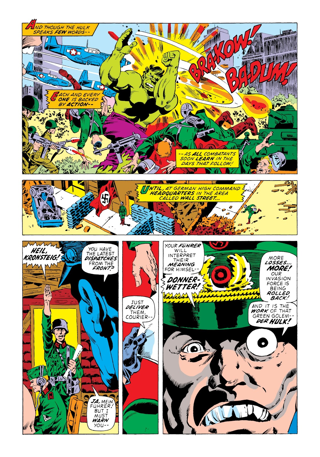 Read online Marvel Masterworks: The Incredible Hulk comic -  Issue # TPB 8 (Part 3) - 50