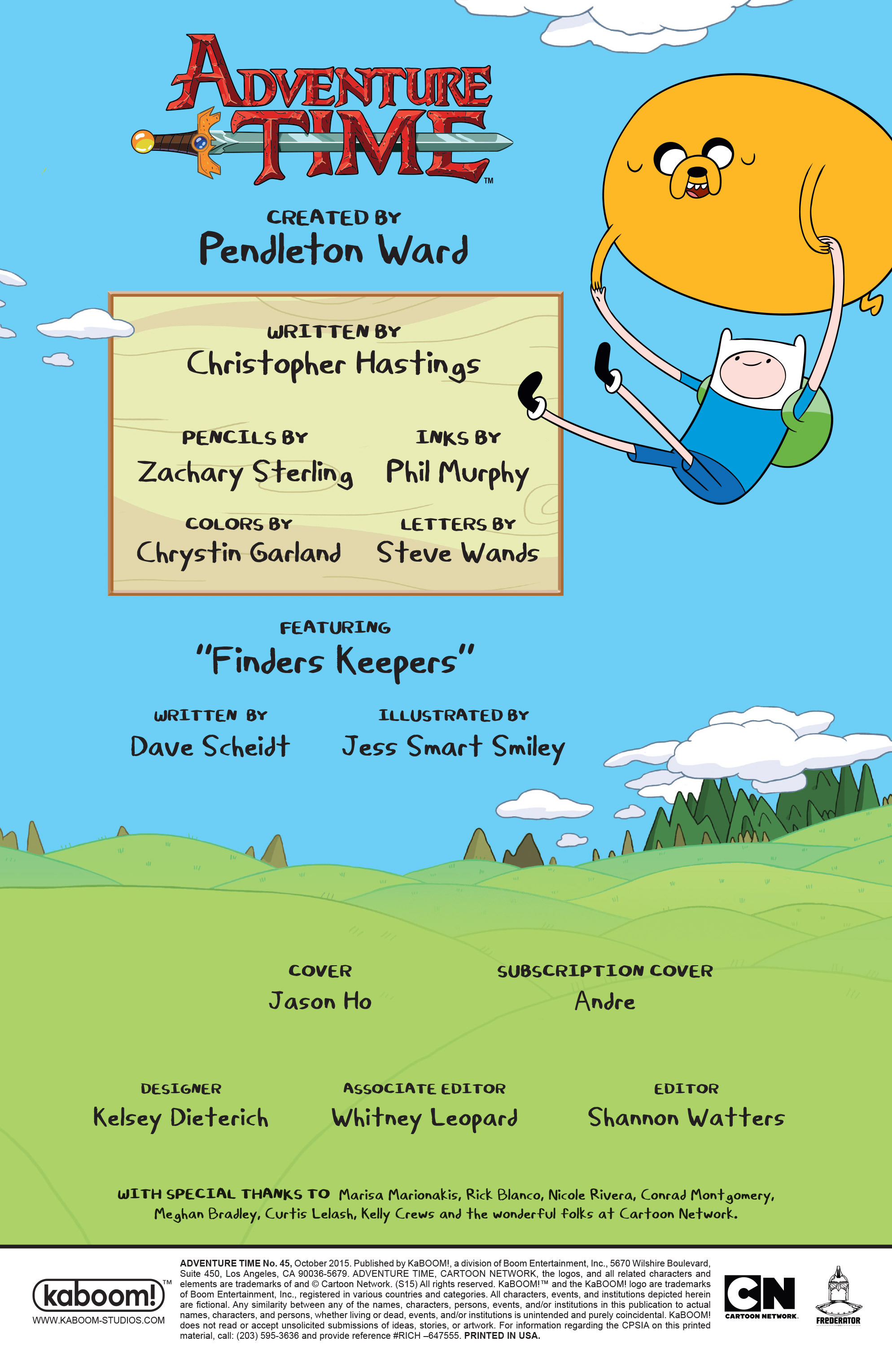 Read online Adventure Time comic -  Issue #45 - 2