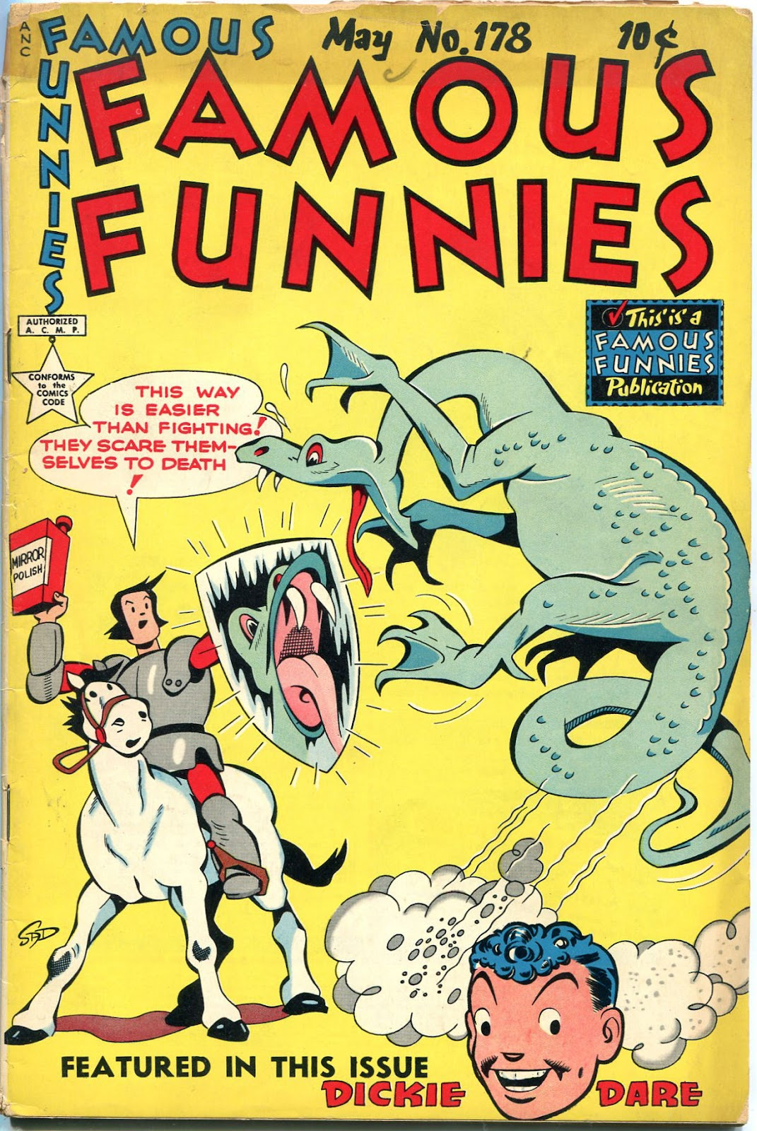 Read online Famous Funnies comic -  Issue #178 - 1