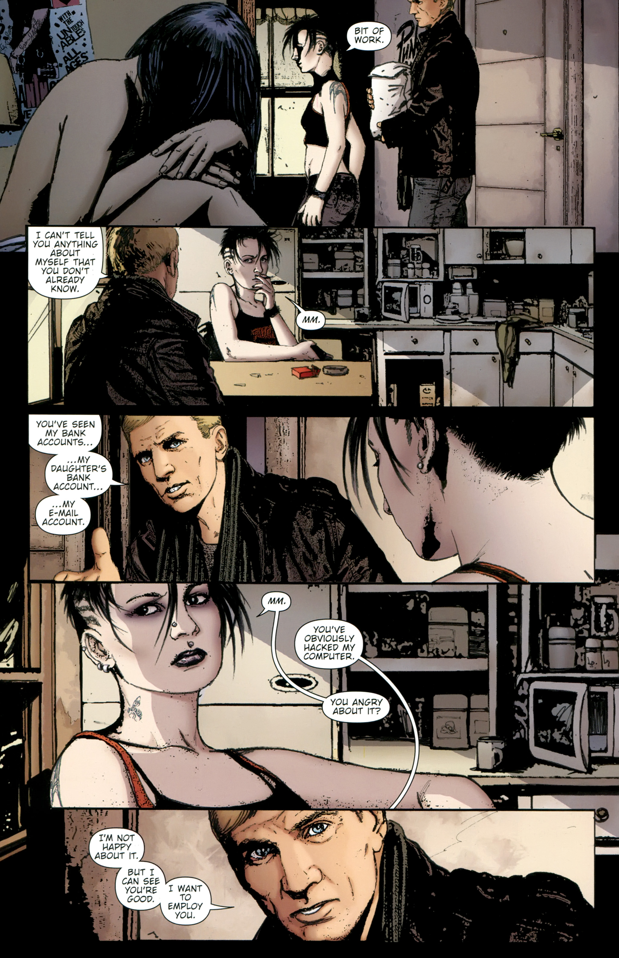 Read online The Girl With the Dragon Tattoo comic -  Issue # TPB 2 - 46