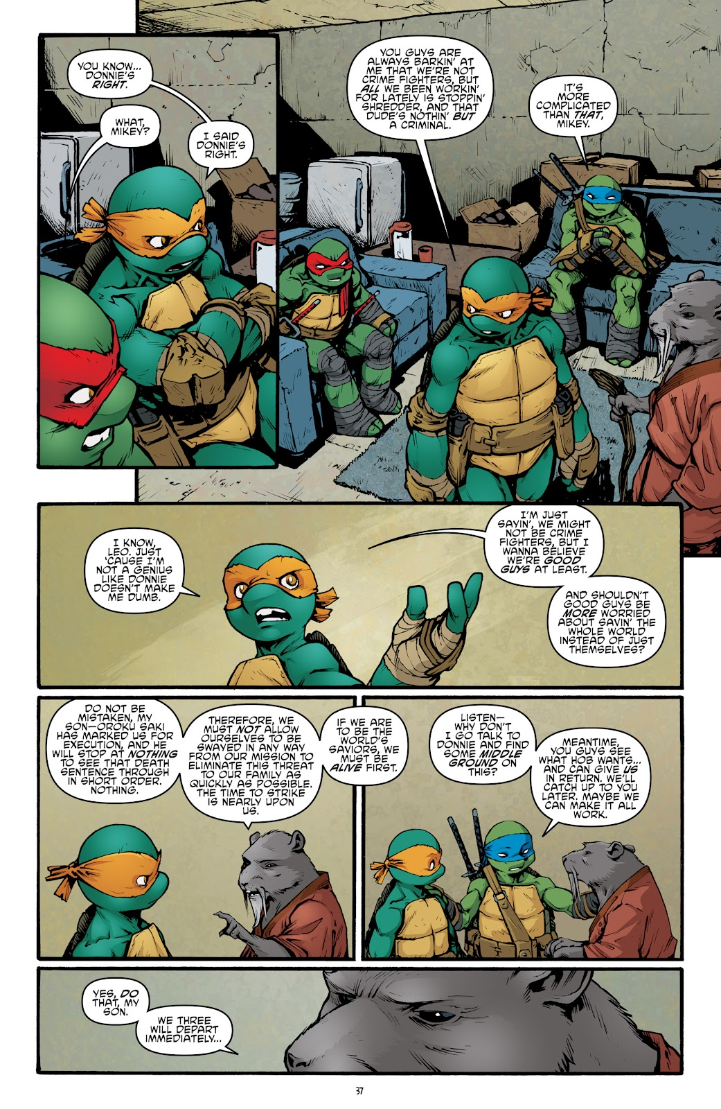 Read online Teenage Mutant Ninja Turtles: The IDW Collection comic -  Issue # TPB 5 (Part 2) - 13