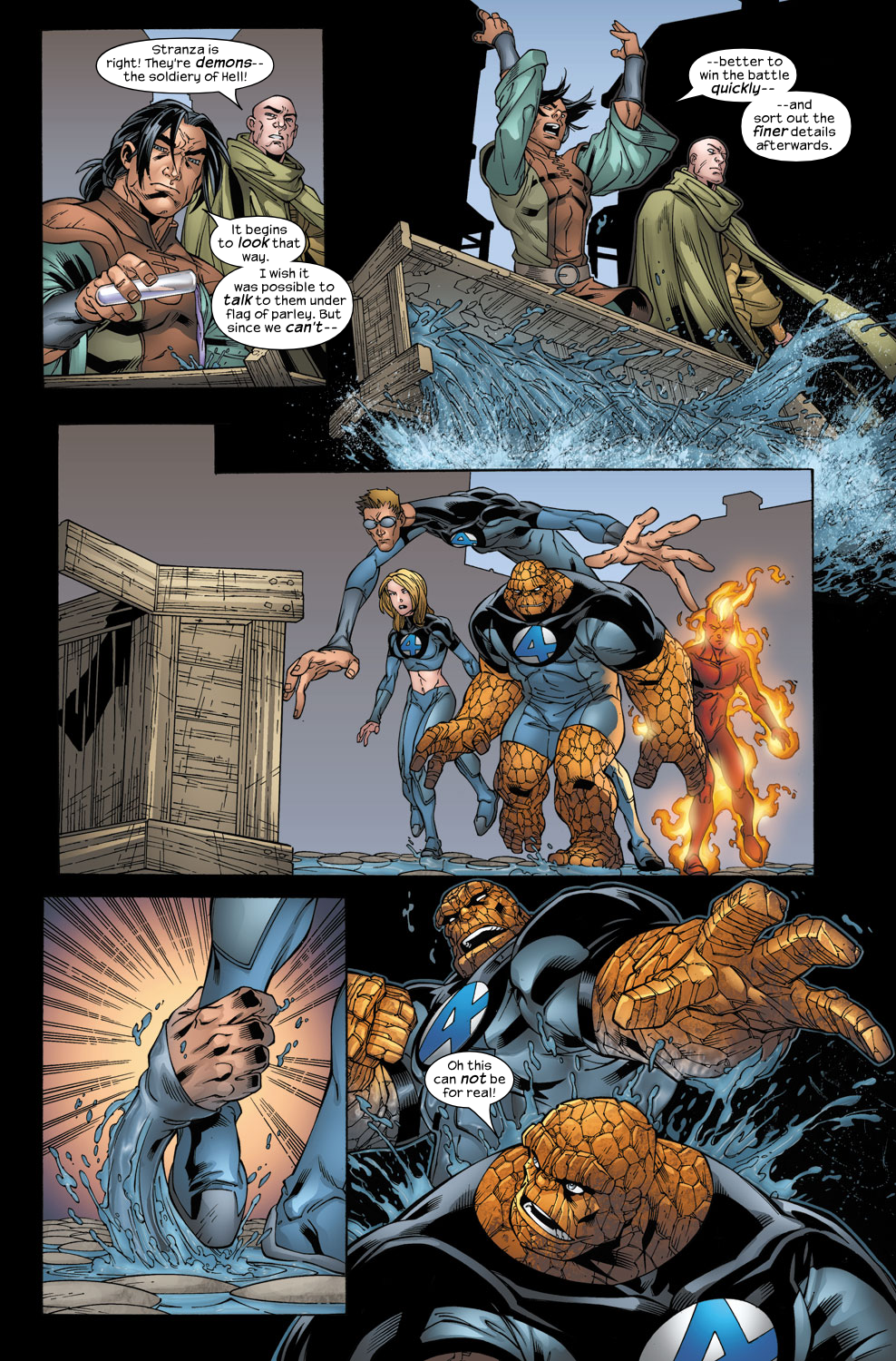Read online Ultimate Fantastic Four (2004) comic -  Issue #40 - 17