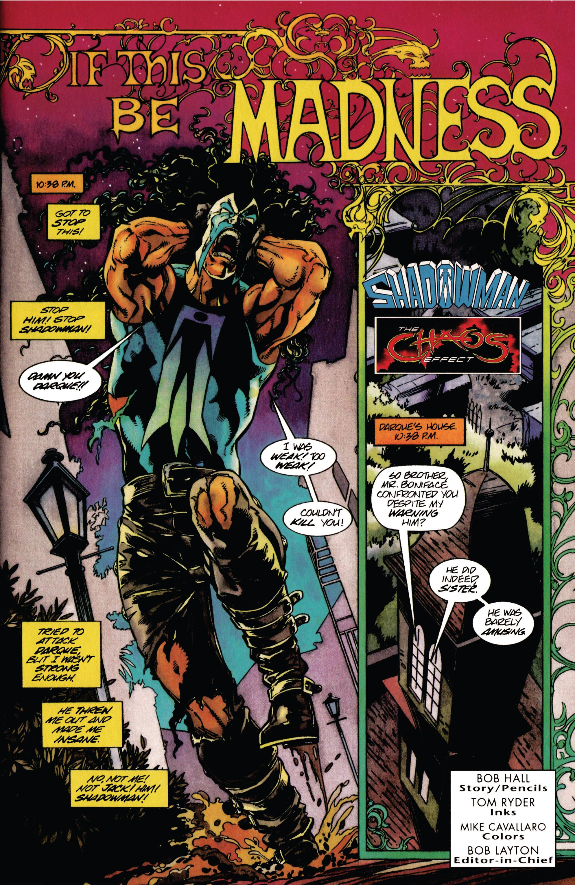 Read online Shadowman (1992) comic -  Issue #29 - 2