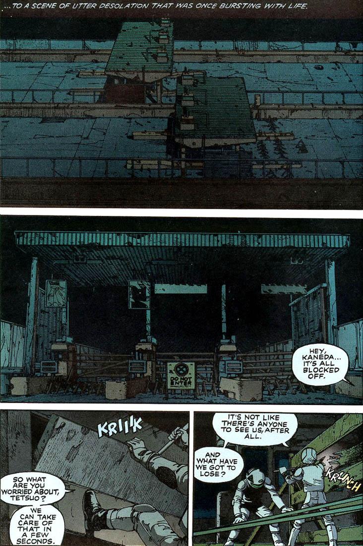 Read online Akira comic -  Issue #1 - 9