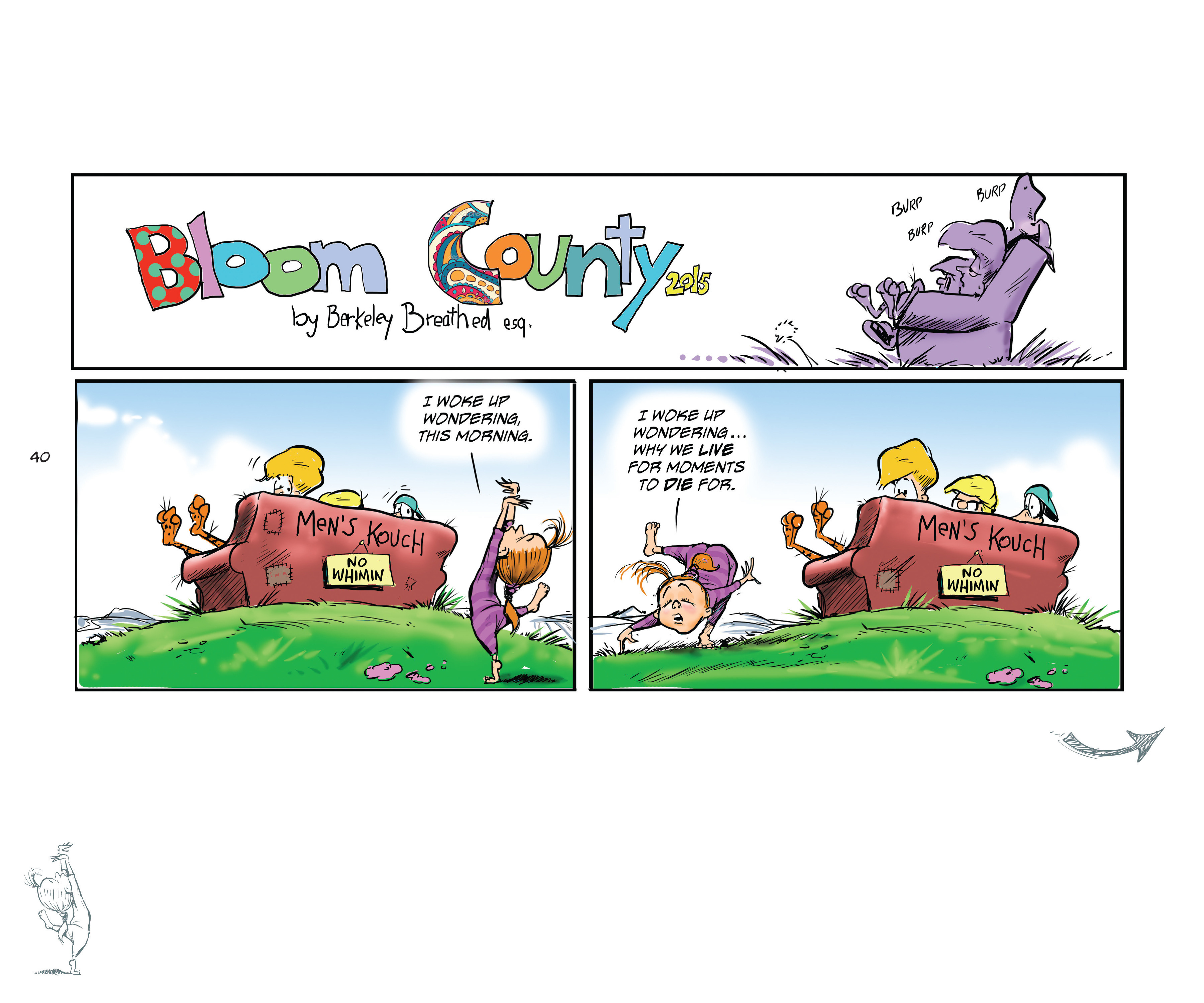 Read online Bloom County Episode XI: A New Hope comic -  Issue # Full - 42