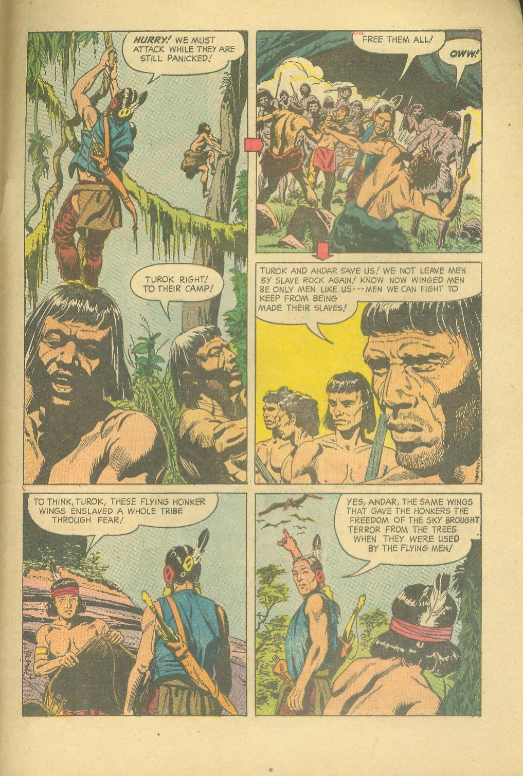 Read online Turok, Son of Stone comic -  Issue #25 - 33