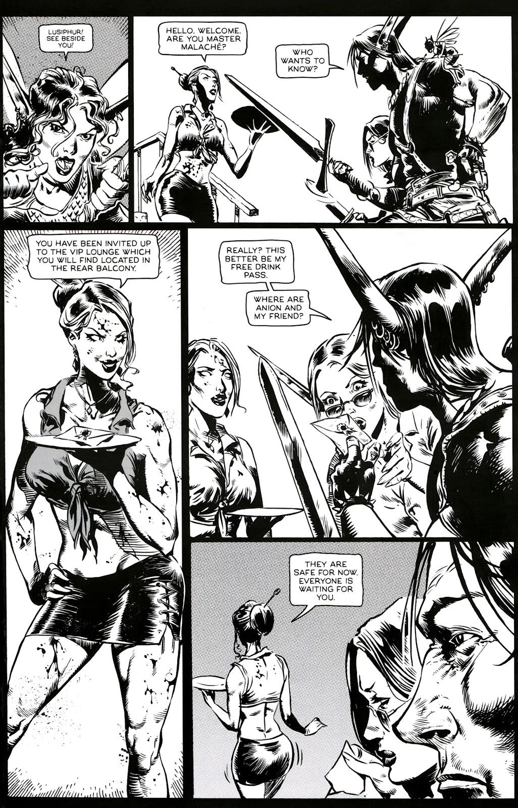 Read online Poison Elves (2013) comic -  Issue #3 - 9