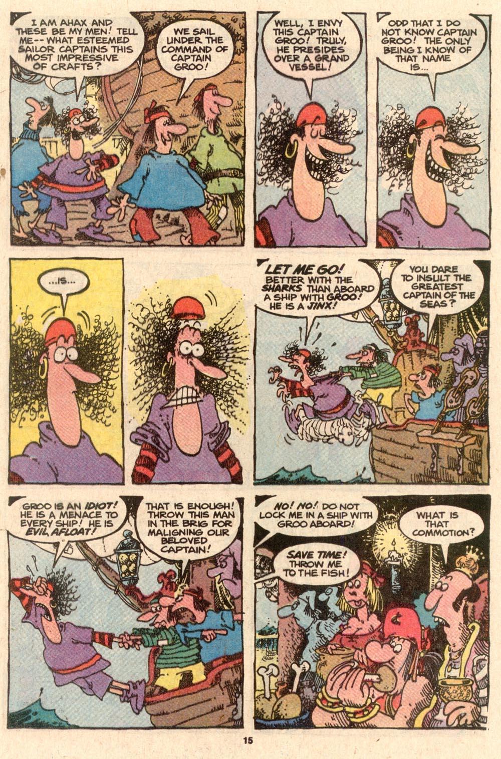 Read online Sergio Aragonés Groo the Wanderer comic -  Issue #57 - 15