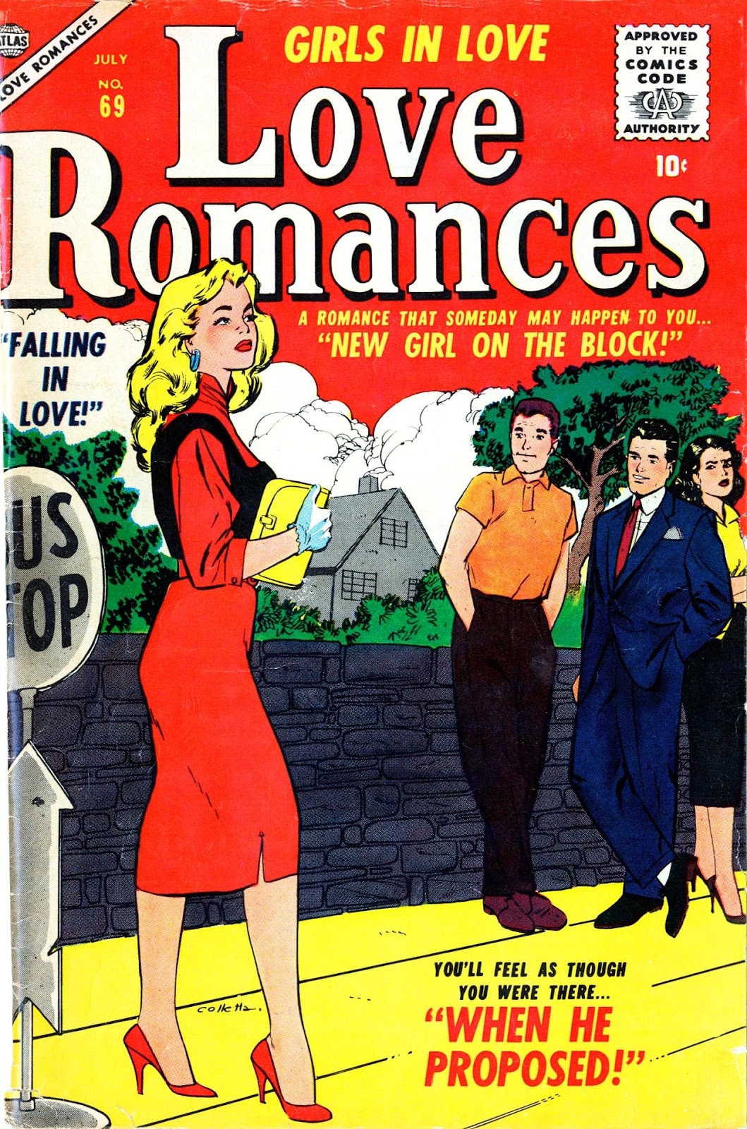 Love Romances (1949) issue 69 - Page 1