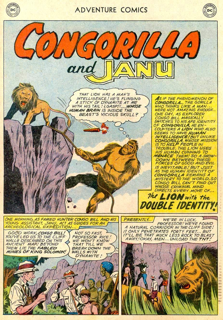 Read online Adventure Comics (1938) comic -  Issue #283 - 21