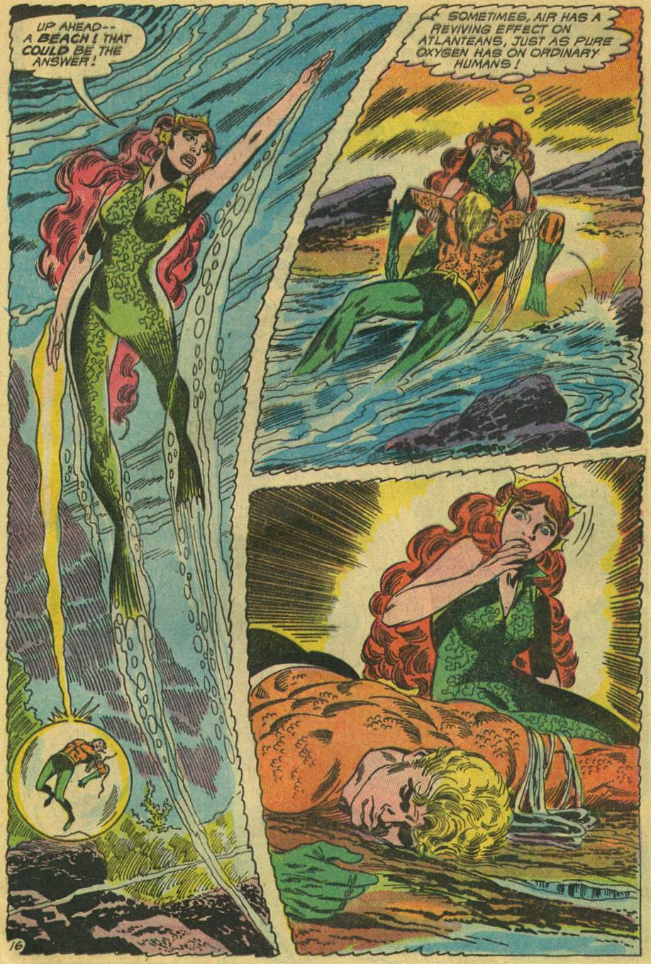 Read online Aquaman (1962) comic -  Issue #46 - 21