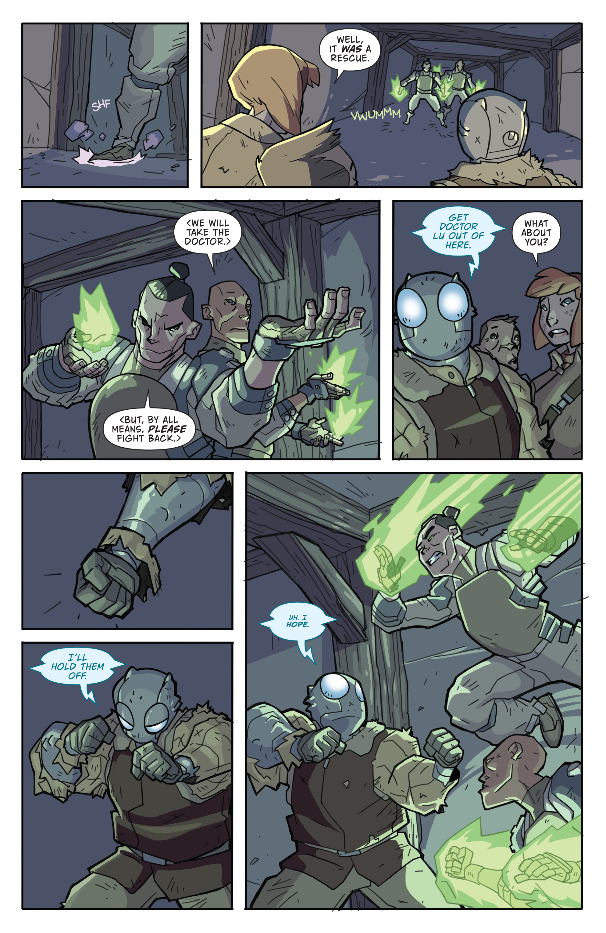 Read online Atomic Robo and the Temple of Od comic -  Issue #2 - 16
