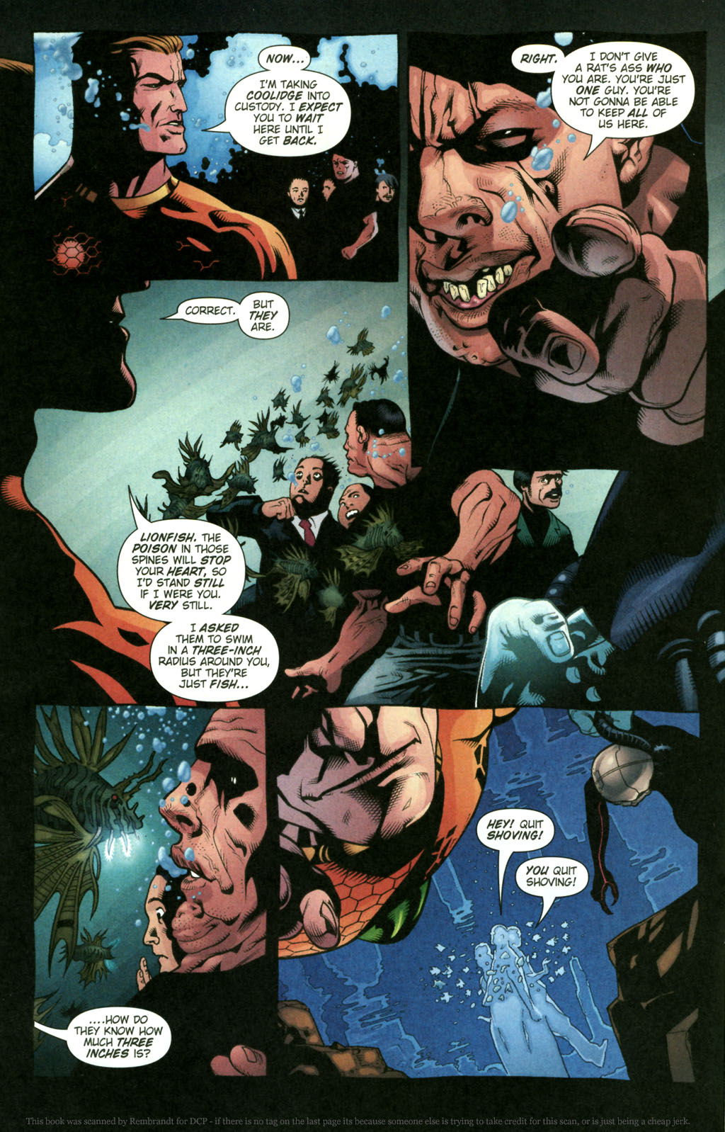 Read online Aquaman (2003) comic -  Issue #22 - 9