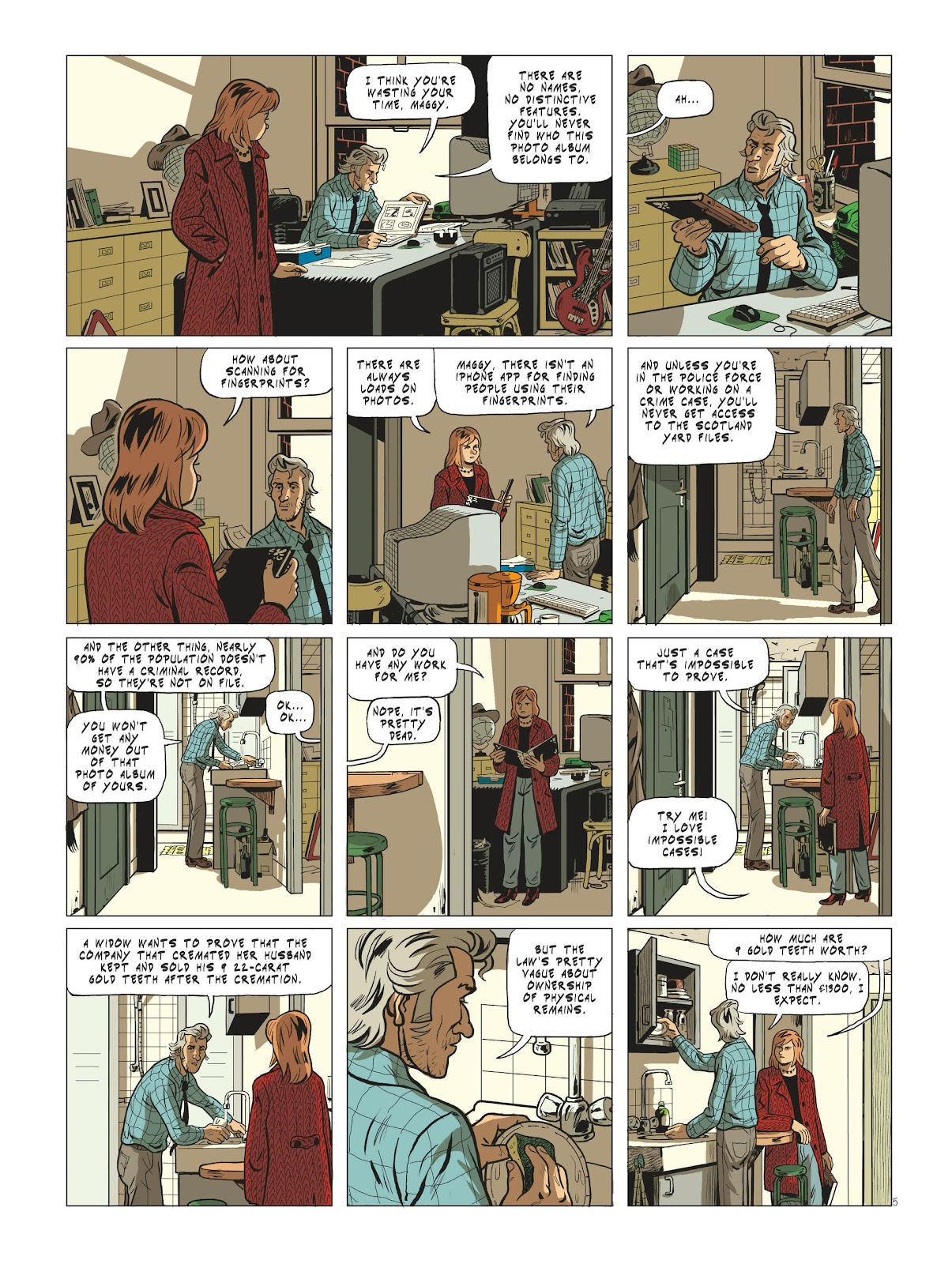 Read online Maggy Garrisson comic -  Issue #3 - 7