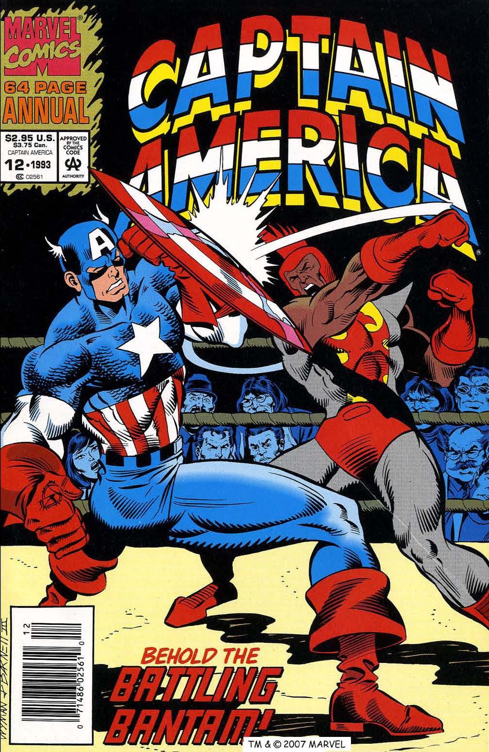 Read online Captain America (1968) comic -  Issue # _Annual 12 - 1