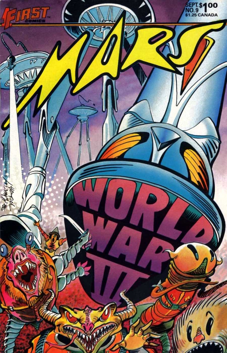 Read online Mars comic -  Issue #9 - 1
