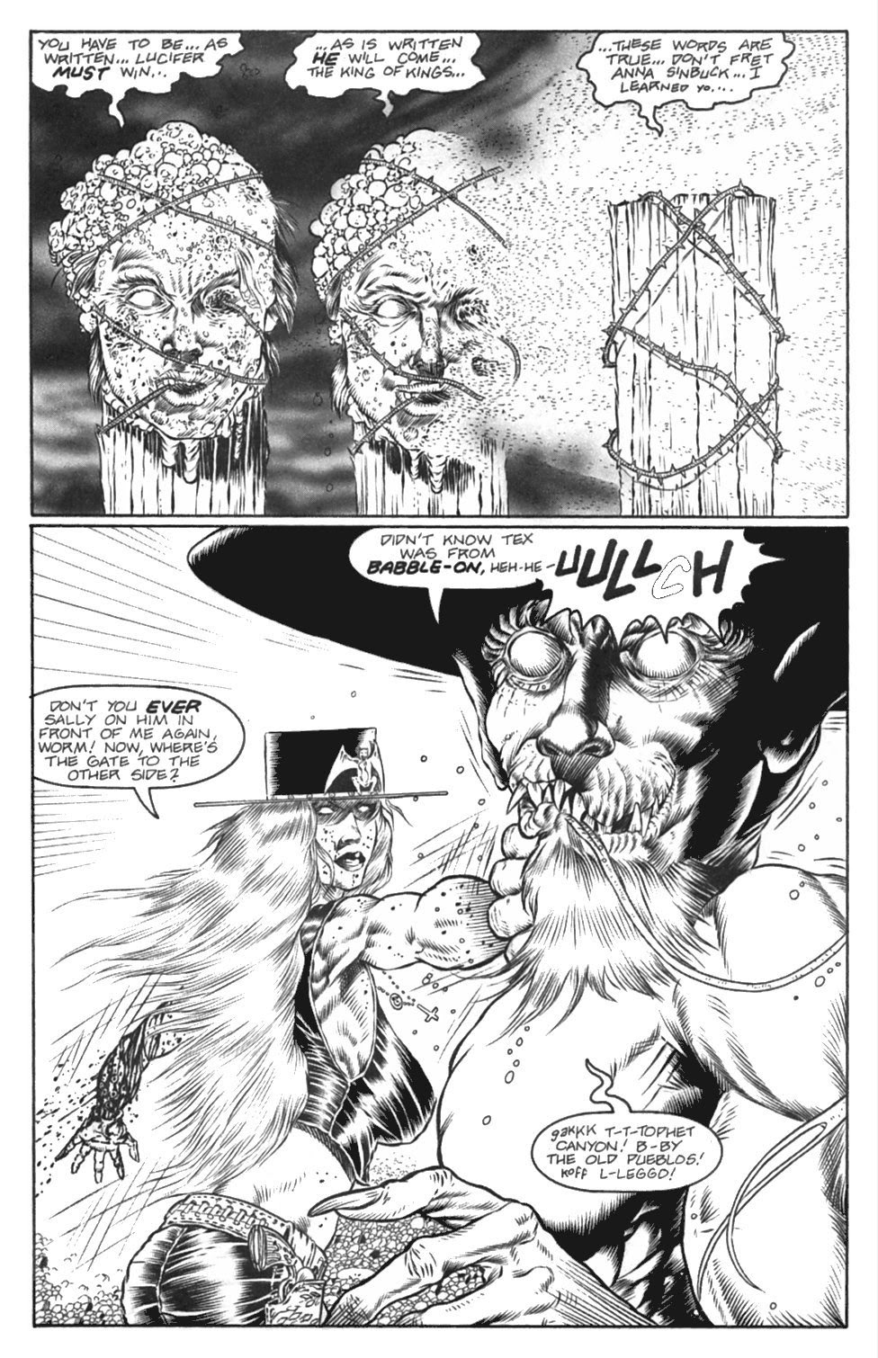 Read online Gunfighters in Hell comic -  Issue #4 - 15