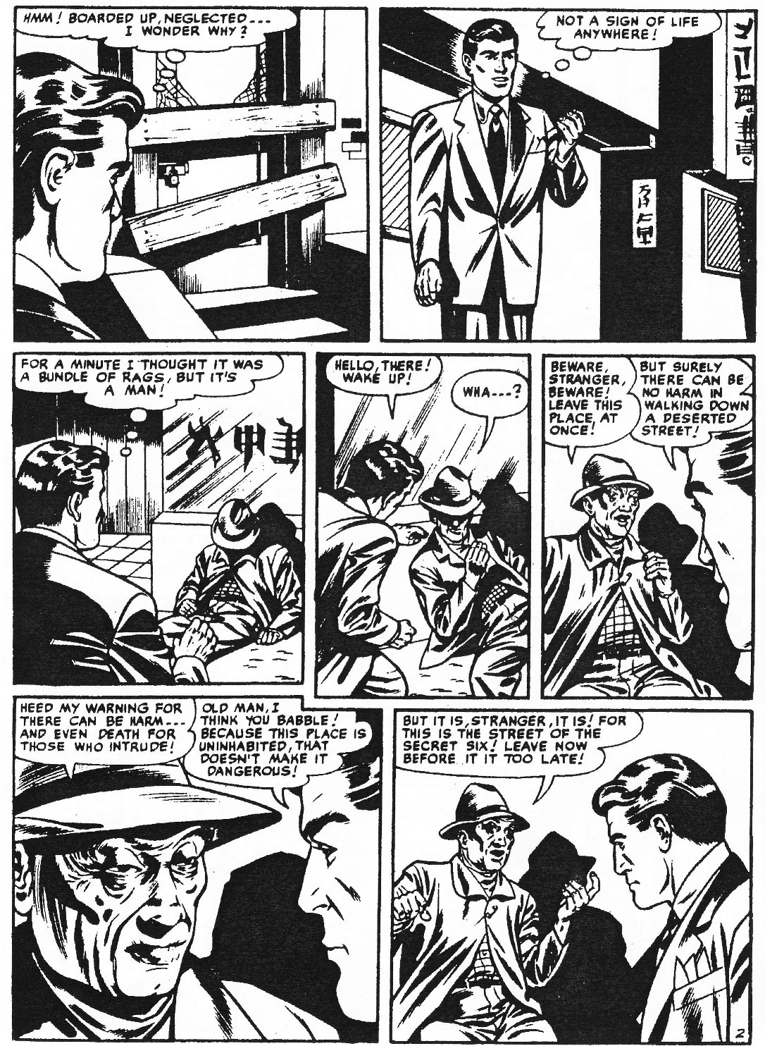 Read online Men of Mystery Comics comic -  Issue #76 - 22