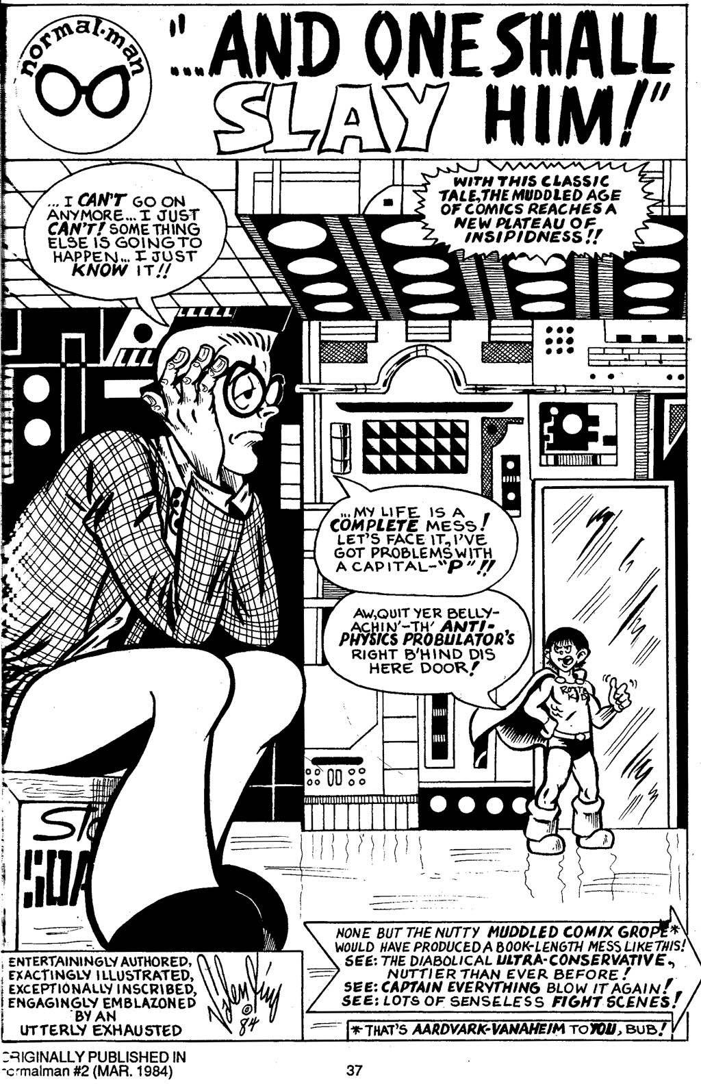 Read online Normalman - The Novel comic -  Issue # TPB (Part 1) - 42