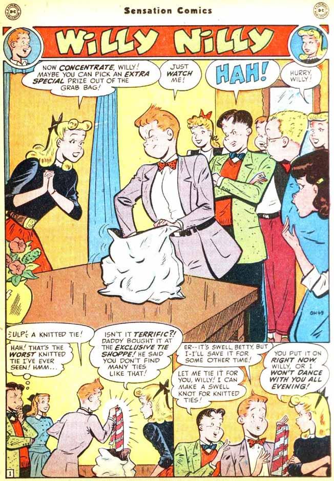 Read online Sensation (Mystery) Comics comic -  Issue #92 - 27