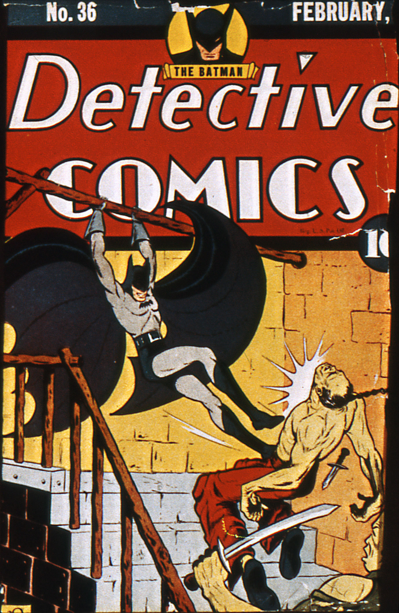 Read online Detective Comics (1937) comic -  Issue #36 - 1