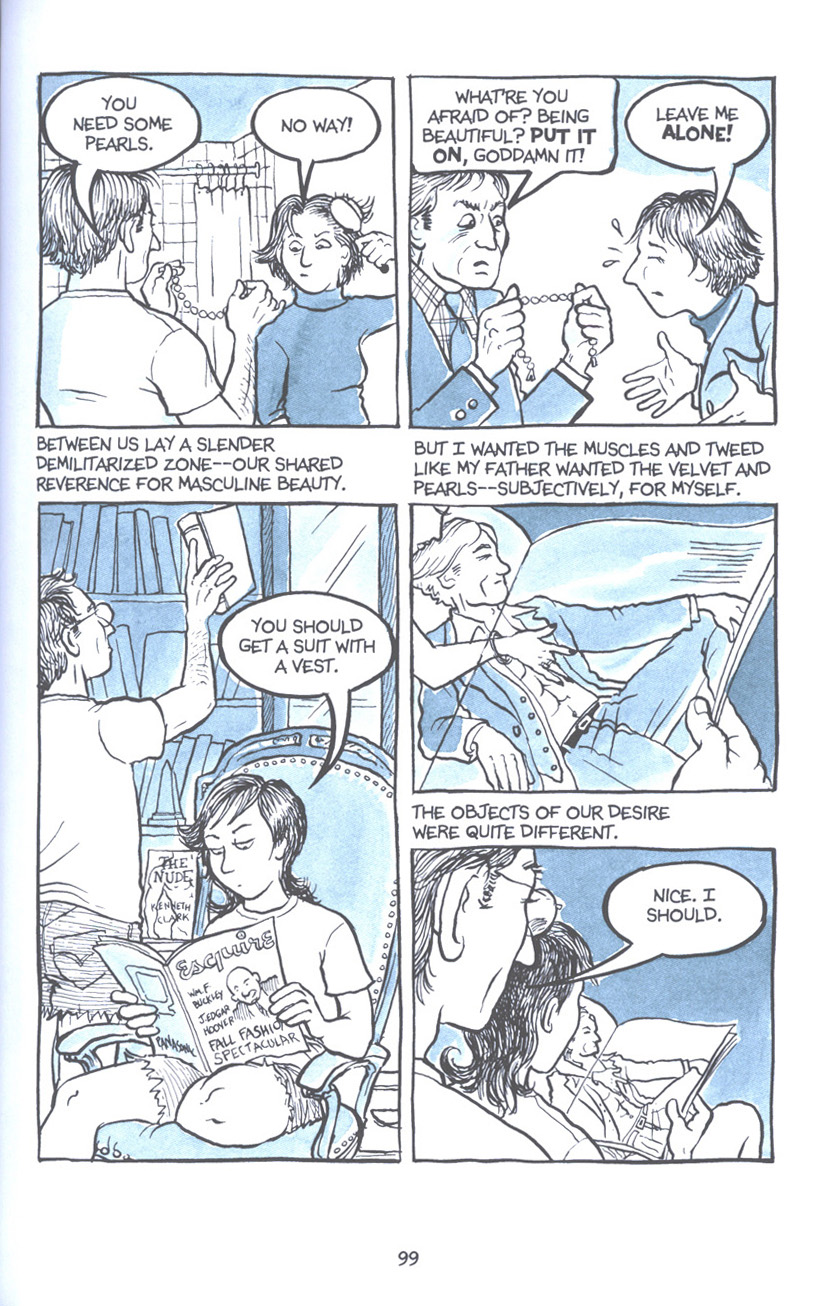 Read online Fun Home: A Family Tragicomic comic -  Issue # TPB - 106
